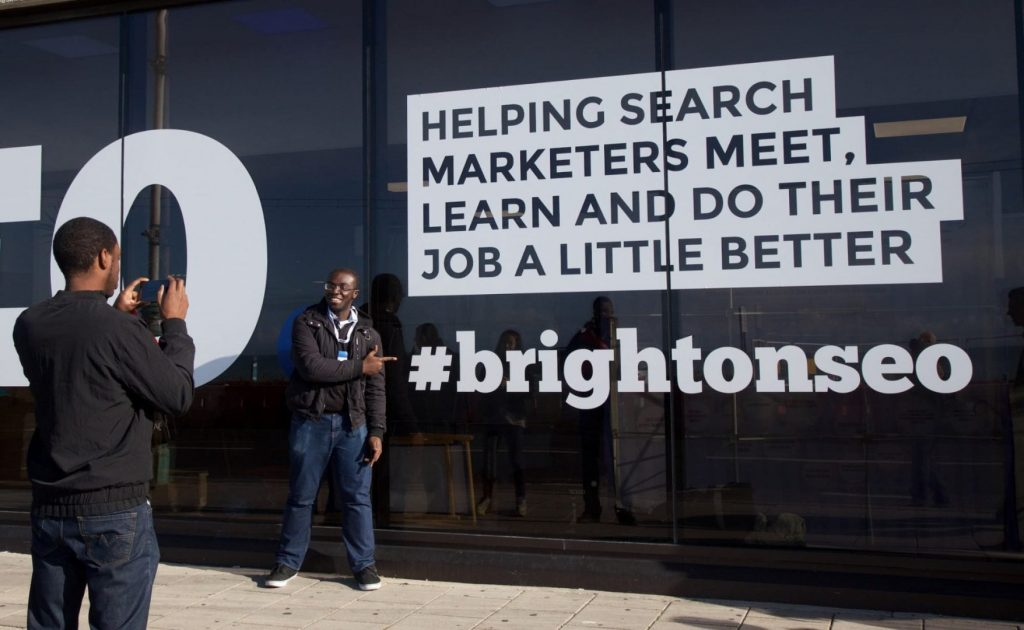 BrightonSeo konferencia