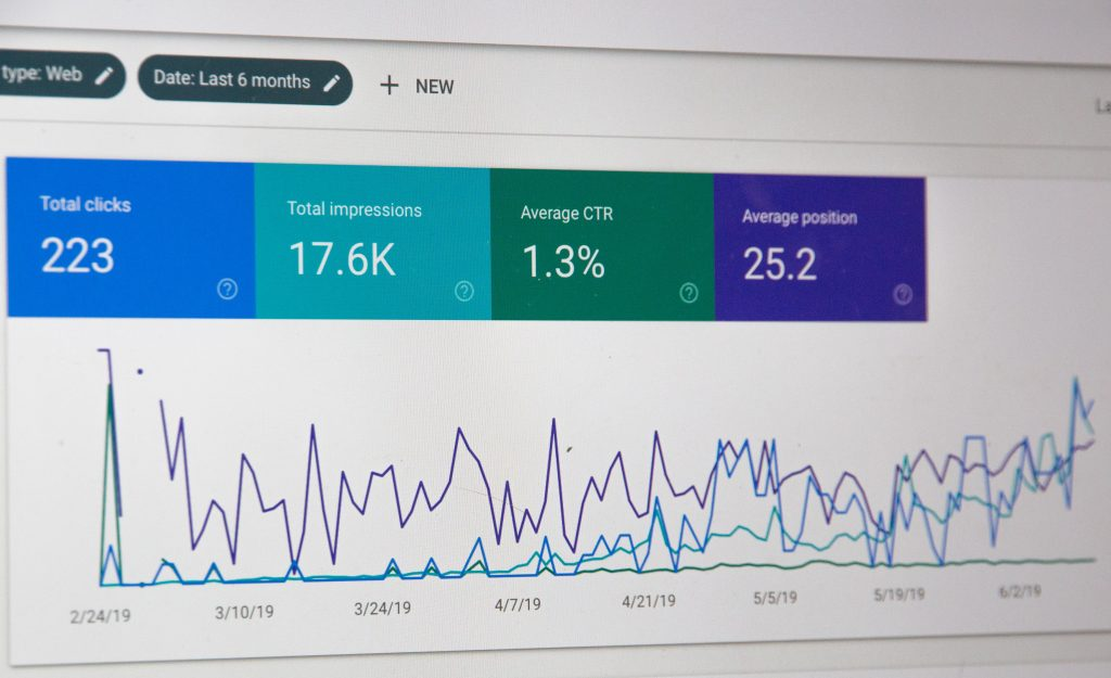 google search console view