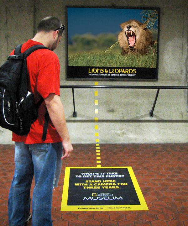Guerilla marketingová kampaň Múzeum