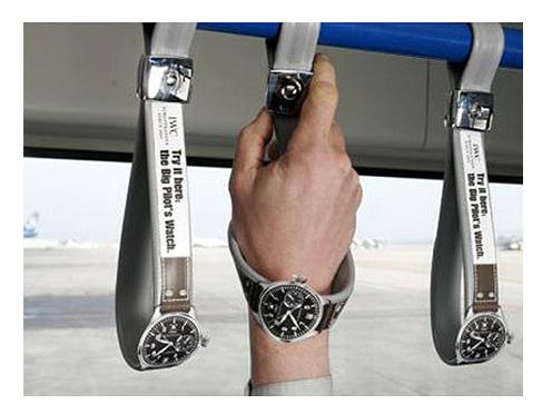 Guerilla marketingová kampaň Hodinky.