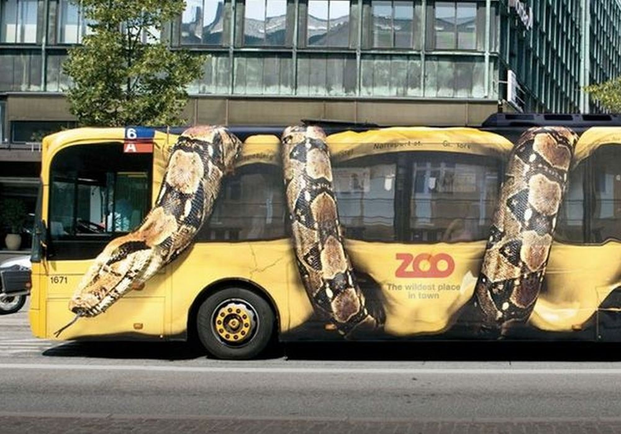 Guerilla marketingová kampaň ZOO