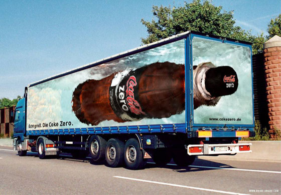 Guerilla marketing CocaCola Zero