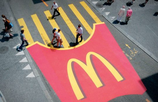 McDonald's Guerrilla Marketing