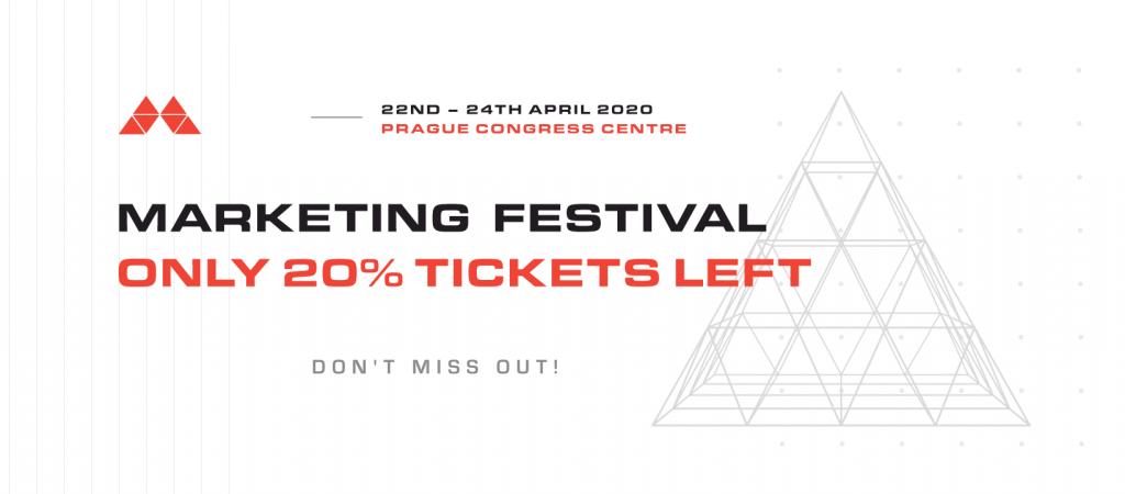 Marketing festival ticket 2020
