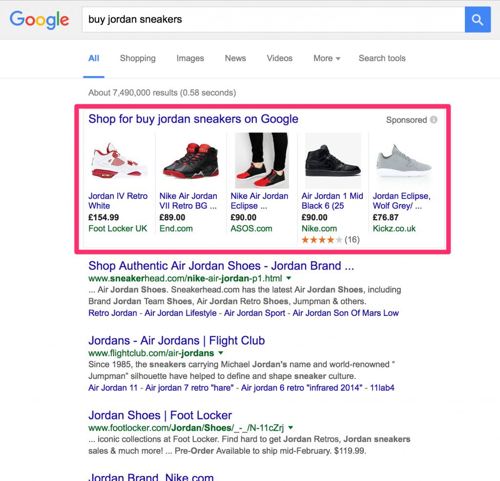 Ako vyzerá Google Shopping Feed