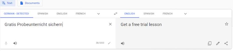 Využitie prekladača Google pri medzinárodnej kampani